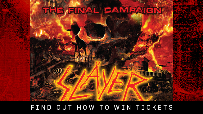 You Could Win Tickets To Slayer!