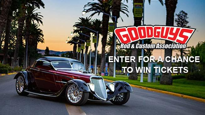 You Could Win Tickets To The GoodGuys 33rd West Coast Nationals Car Show!