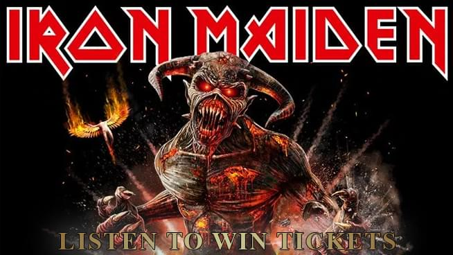 You Could Win Tickets To Iron Maiden!