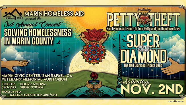 November 2: 3rd Annual Concert Solving Homelessness in Marin County