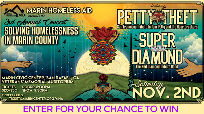 You Could Win Tickets To Marin Homeless Aid!