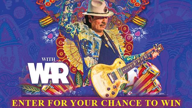You Could Win Tickets To Santana