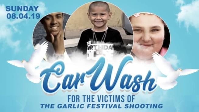 Car Wash For The Victims Of The Garlic Festival Shooting