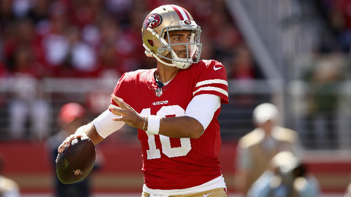 49ers Notebook: Garoppolo moves past 5-pick day, Ward not a lock to start, injury updates