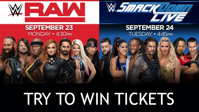 You Could Win WWE Tickets