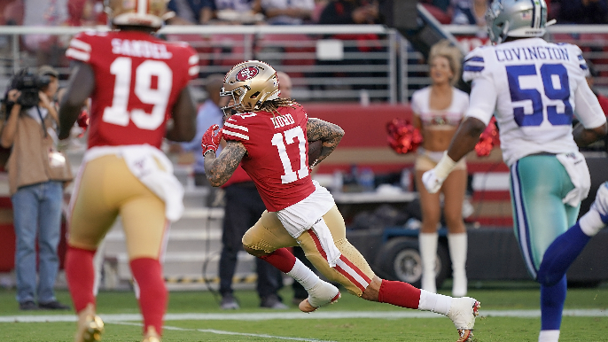 Muddled mess of early injuries stains 49ers' backup-dominated preseason win over Cowboys