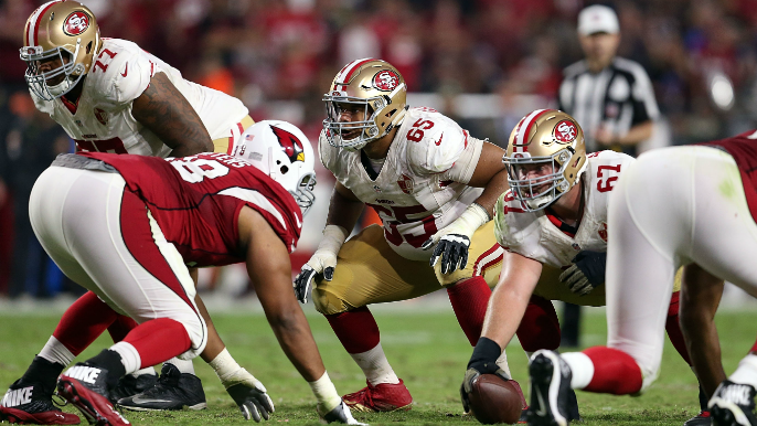Shon Coleman's injury looks to be a season-ender, and the 49ers' offensive line is in trouble