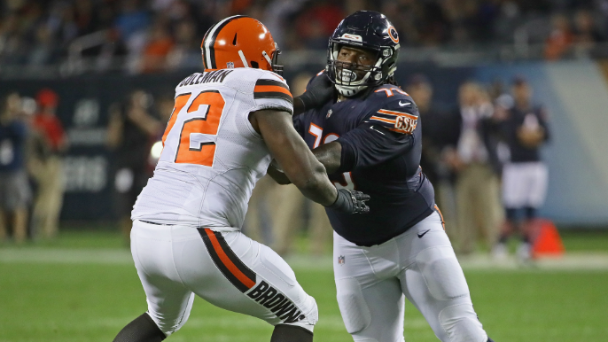 Shon Coleman underwent surgery for severe ankle injury, season likely over