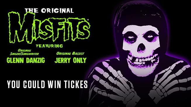 You Could Win Tickets To See The Original Misfits