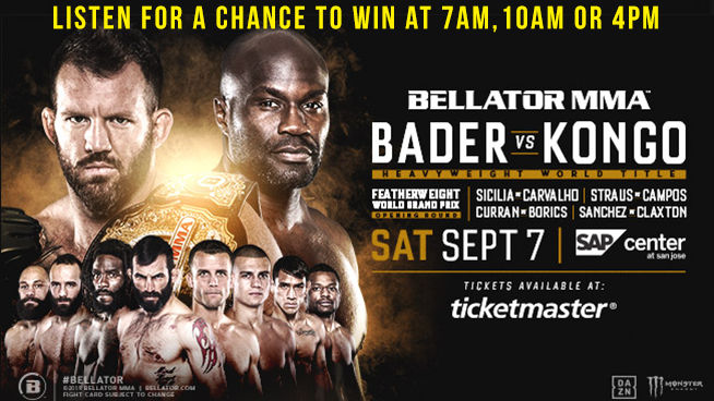 Your Chance At Bellator MMA Tickets!