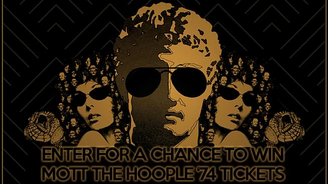 You Could Win Tickets To Mott The Hoople '74