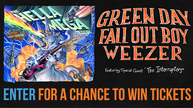 You Could Win Tickets To The Hella Mega Tour