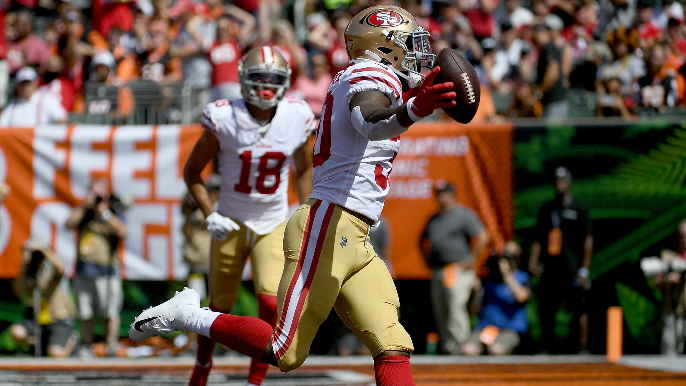 49ers unrelenting in bludgeoning of Bengals, but lose Joe Staley for a while