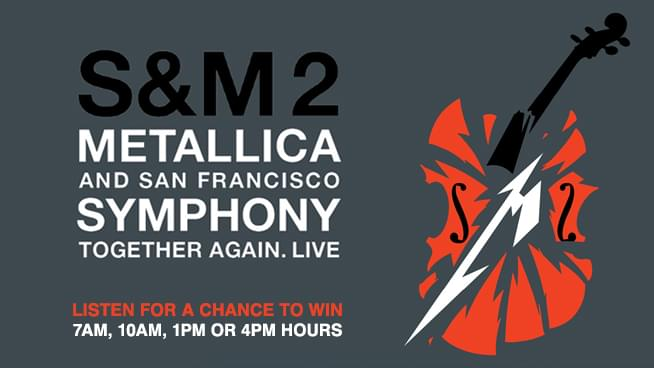 """You Could Win Tickets To See """"Metallica and San Francisco Symphony: S&M²"""" In Theaters 10/9 & 10/16!"""