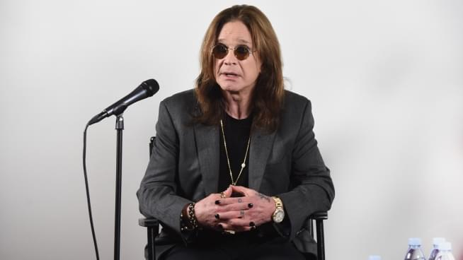 Ozzy Osbourne Says His New Solo Album Is Done