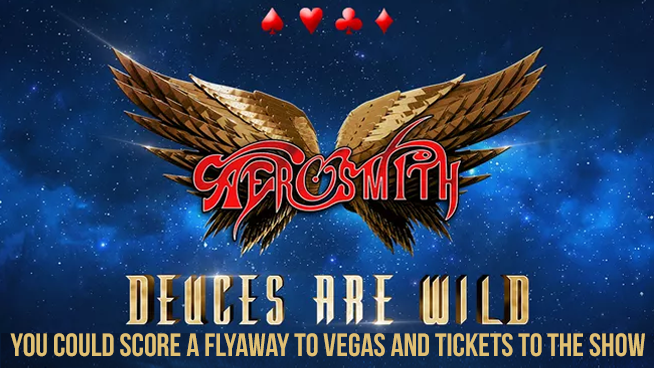 You Could Score A Flyaway To Las Vegas To See Aerosmith!