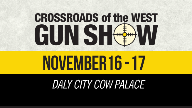 November 16 – November 17: Crossroads Of The West Gun Show
