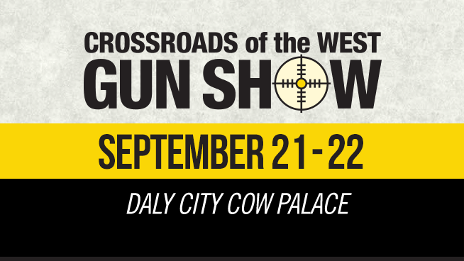 September 21 – September 22: Crossroads Of The West Gun Show