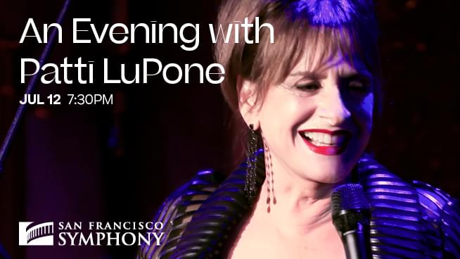July 12: An Evening with Patti LuPone
