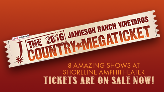 An Amazing Summer of Country Concerts coming to Shoreline Amphitheatre!