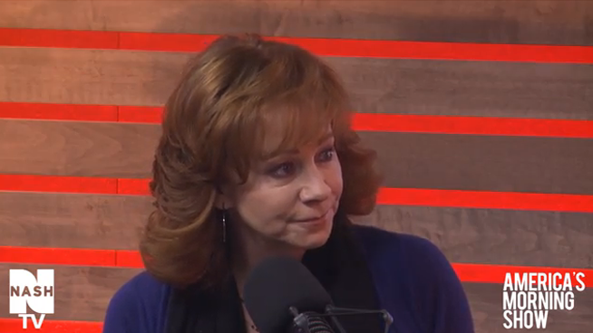 Reba McEntire on America's Morning Show