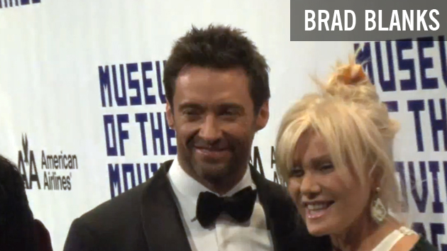 Hugh Jackman Honored and Talks Halle Berry