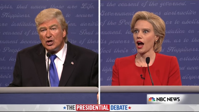 ► SNL's Full Trump vs. Clinton Debate