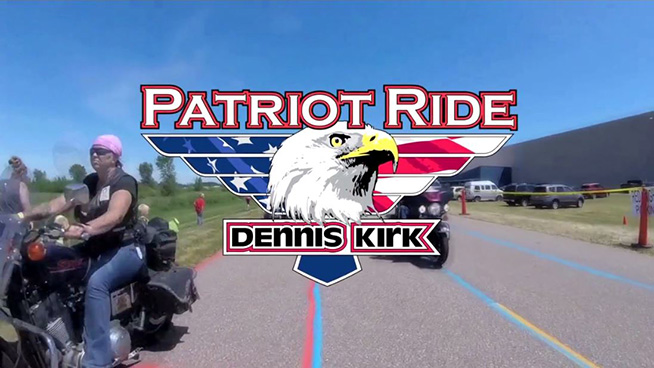 JUN 30 • KQ at 13th Annual Dennis Kirk Patriot Ride