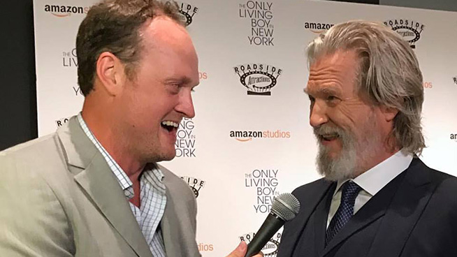 "Jeff Bridges at the NYC Premiere of ""The Only Living Boy In New York"""