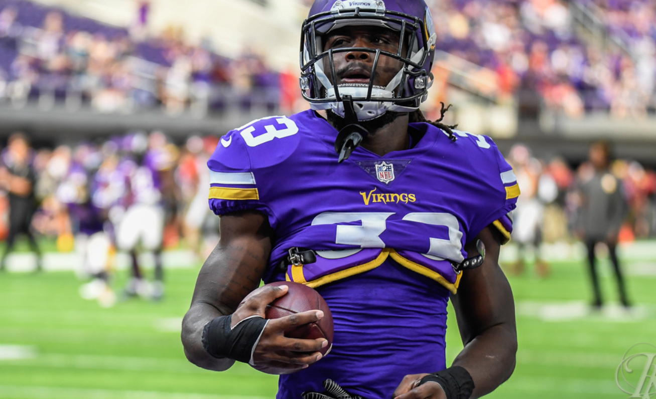 wholesale dealer 6f017 9e5ab Dalvin Cook Injures Knee, Vikings Lose to Lions | 92KQRS.com ...
