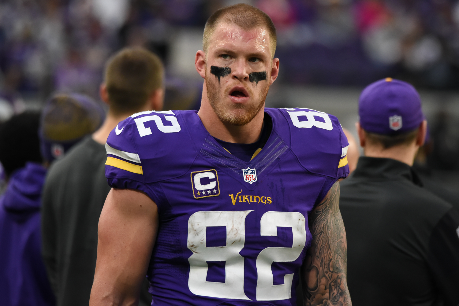 Kyle Rudolph Speaks on the 'Duck, Duck, Gray Duck' Debate | 105 The Vibe | WGVX-FM