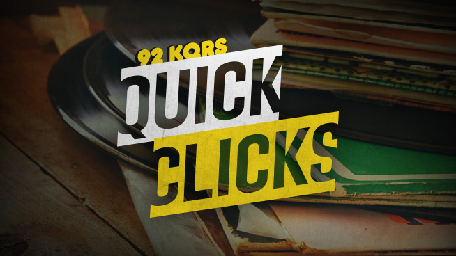 92 KQRS QUICK CLICKS Music News: 6/4/18