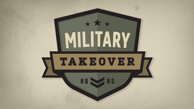 2018 Veterans Day Military Takeover