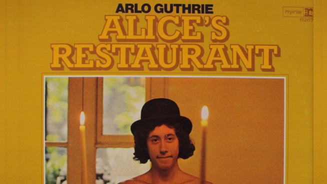 Tune in for Alice's Restaurant on Thanksgiving Day!