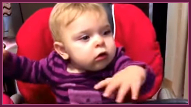 Baby Experiences Prince's Purple Rain for the First Time