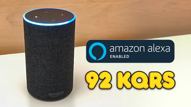Listen to KQRS with Alexa