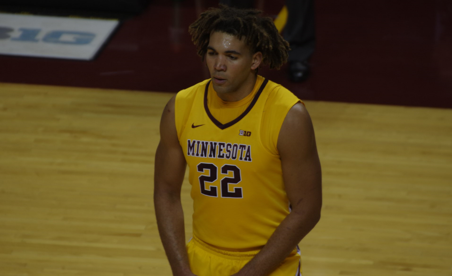 Gophers Lose First Game Without Reggie Lynch