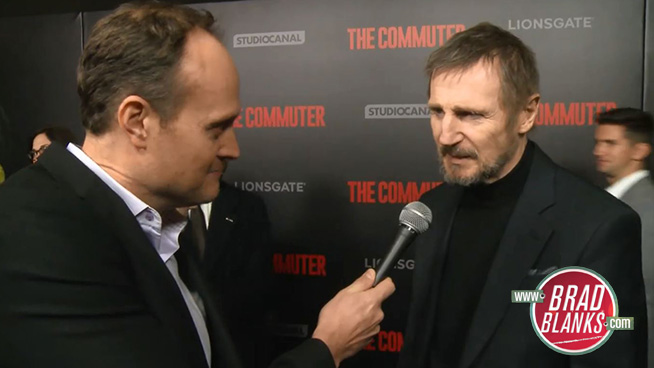 Brad Blanks Chats with Liam Neeson