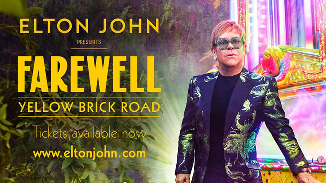 Elton John's Embarking on a 300 Date Farewell Tour