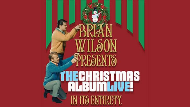 NOV 28 • Brian Wilson presents The Christmas Album Live