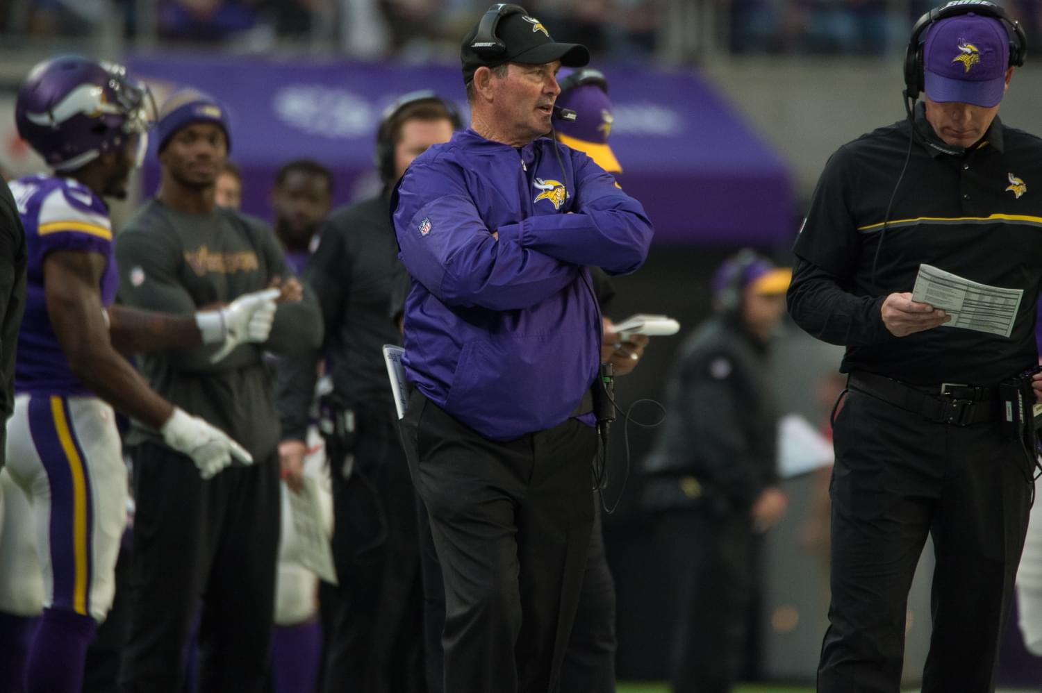 "Mike Zimmer on New Anthem Policy: ""I Think It's Important that We Stand for the Anthem"""