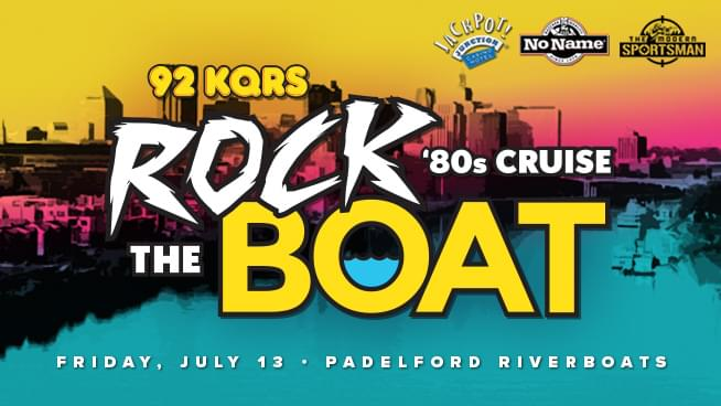 JUL 13 • KQ's Rock The Boat '80s Cruise