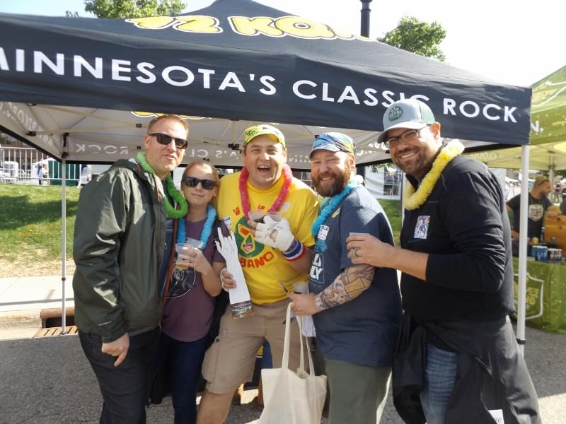 KQRS at City Pages Beer Fest