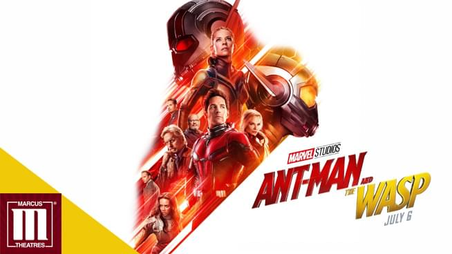 JUL 6 • KQ at the Opening Film Showing of Ant-Man and the Wasp