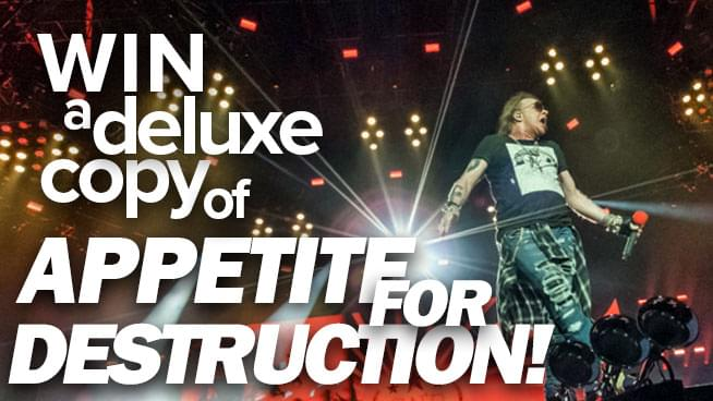 Win a Deluxe Copy of Appetite for Destruction!