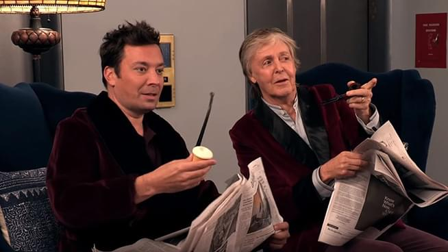Paul McCartney & Jimmy Fallon Surprise Elevator Riders at 30 Rock