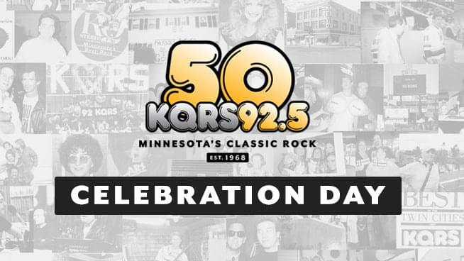 September 25th is KQRS' 50th Anniversary Celebration Day!