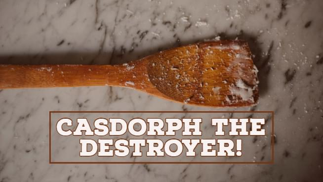 Casdorph The Destroyer Arrested for Huffing Paint, Striking Mom with Spatula