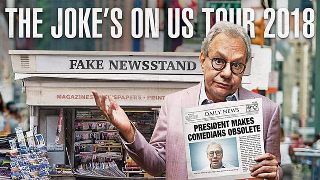 NOV 30 • Lewis Black: The Joke's on US Tour