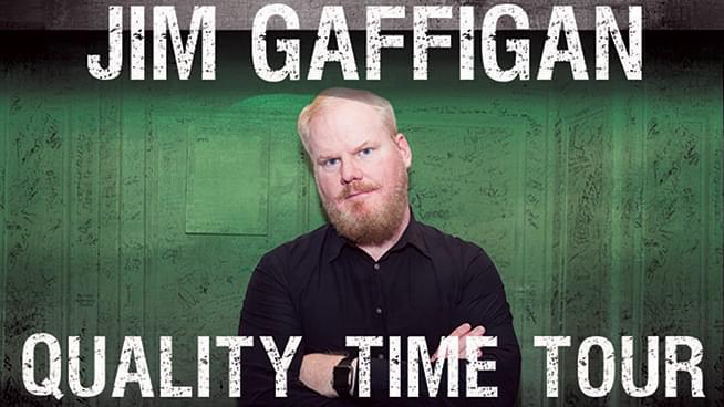 MAR 9 • Jim Gaffigan (Two Shows!)
